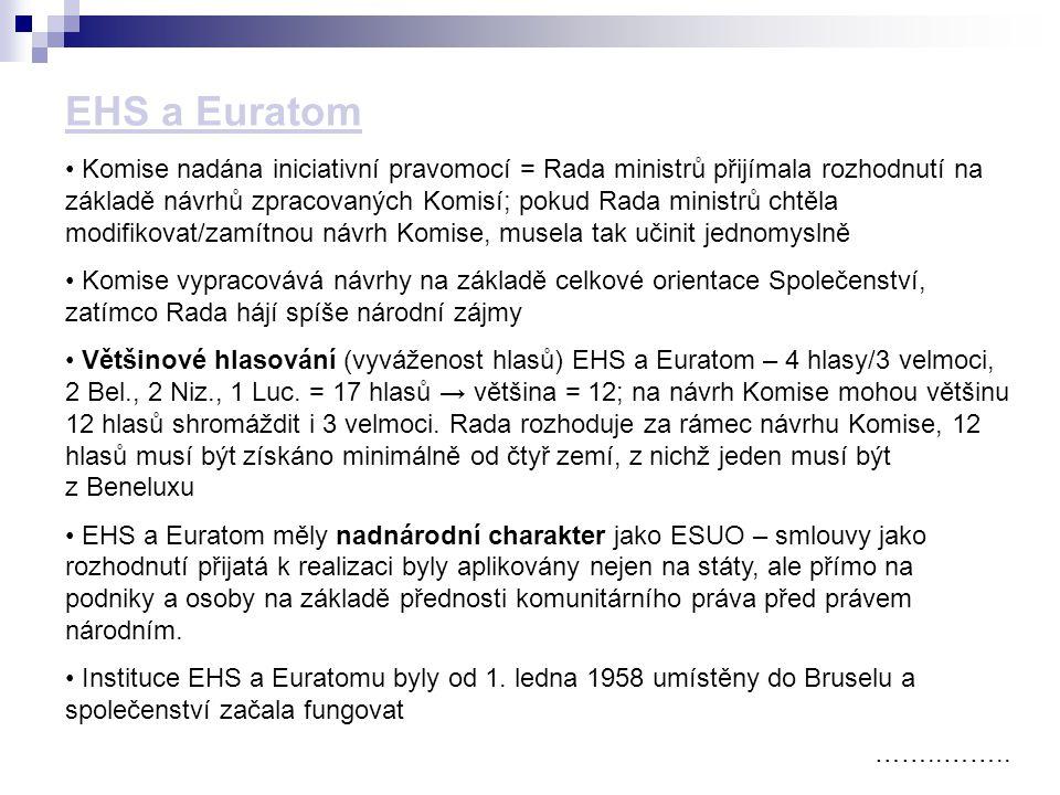 EHS a Euratom