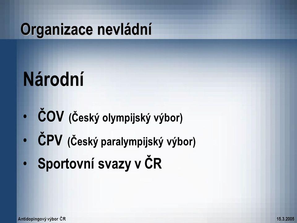 Národní Organizace nevládní ČOV (Český olympijský výbor)