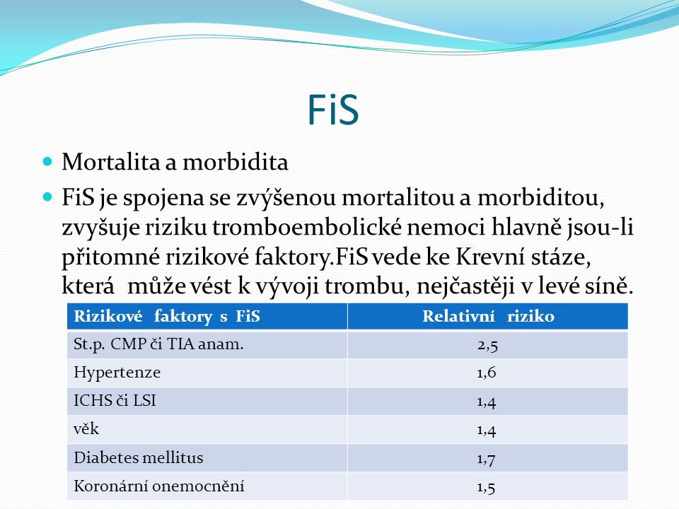 FiS Mortalita a morbidita