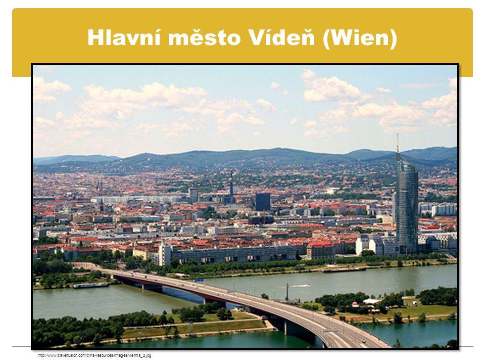 Hlavní město Vídeň (Wien)
