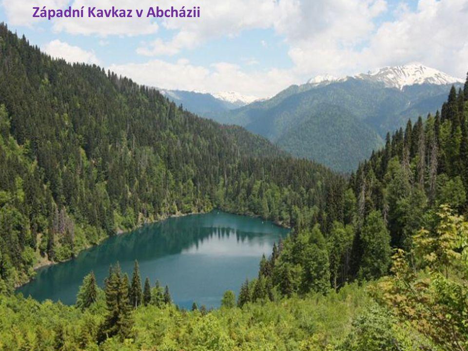 Západní Kavkaz v Abcházii