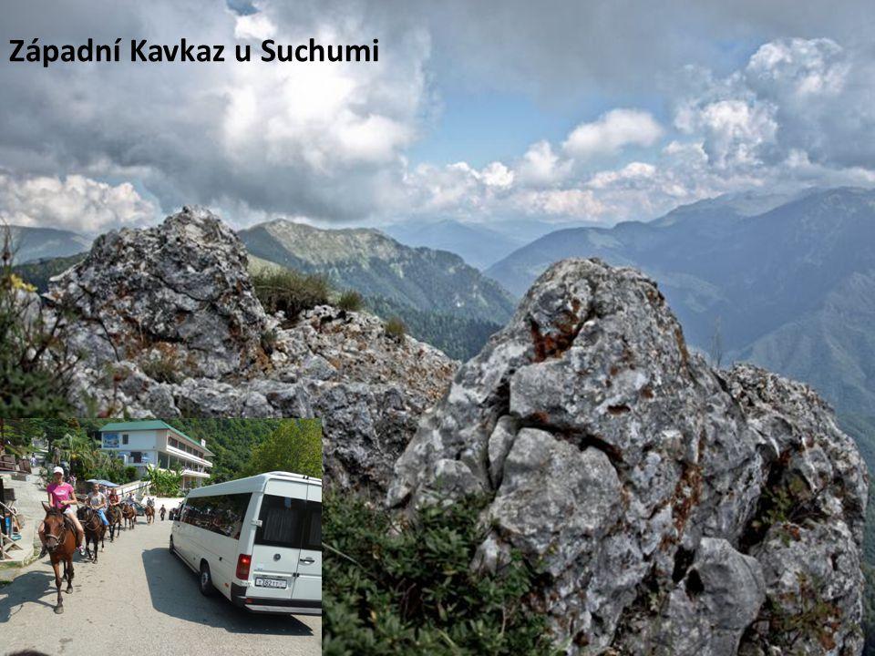 Západní Kavkaz u Suchumi
