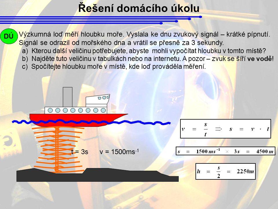 Řešení domácího úkolu DÚ