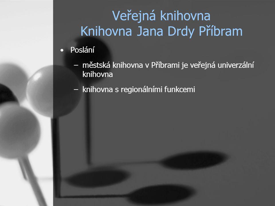 Veřejná knihovna Knihovna Jana Drdy Příbram