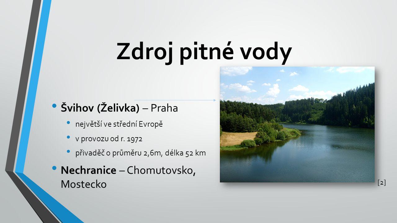 Zdroj pitné vody Švihov (Želivka) – Praha