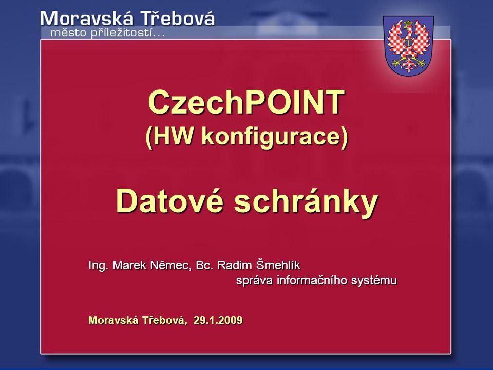 CzechPOINT Datové schránky