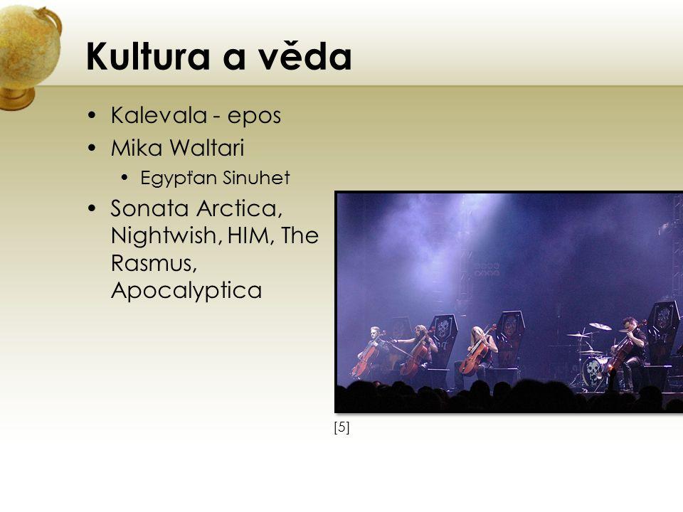 Kultura a věda Kalevala - epos Mika Waltari