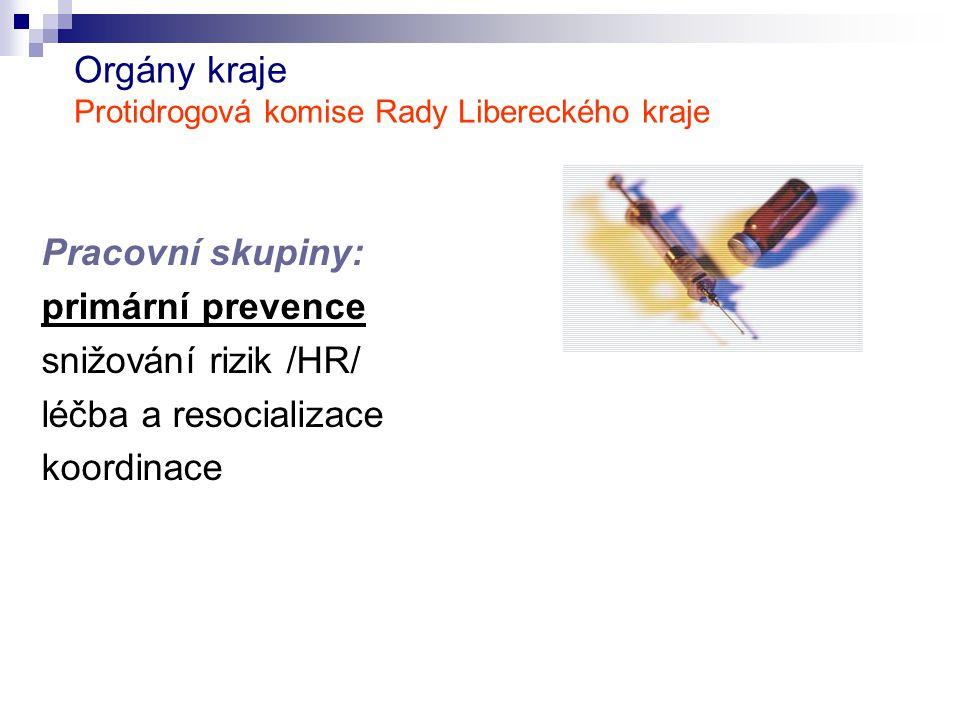 Orgány kraje Protidrogová komise Rady Libereckého kraje