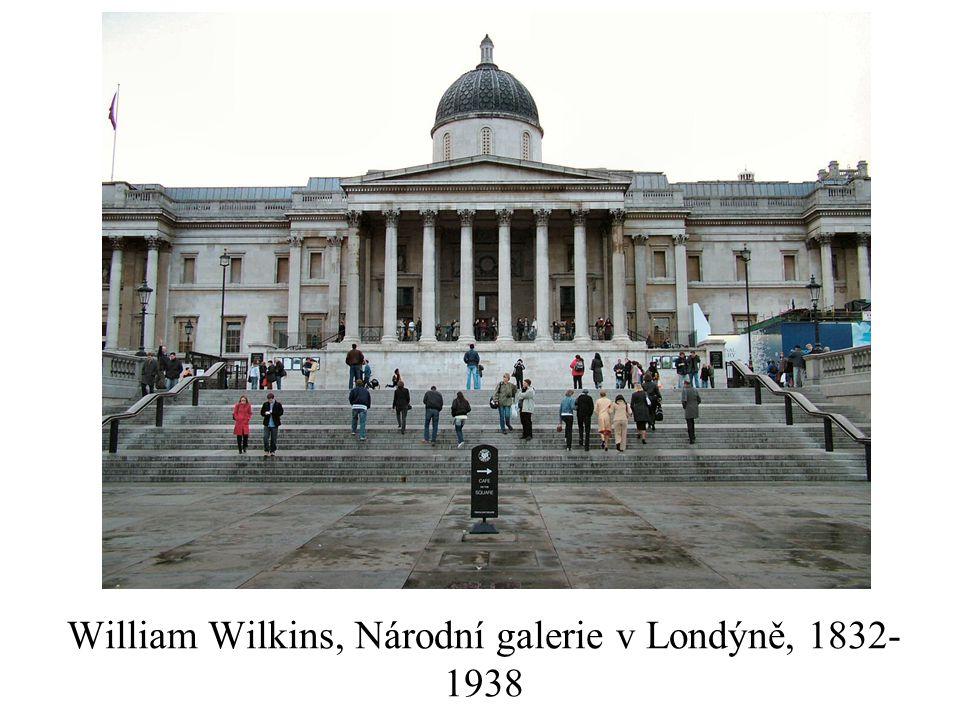 William Wilkins, Národní galerie v Londýně, 1832-1938