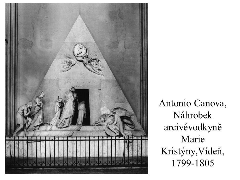Antonio Canova, Náhrobek arcivévodkyně Marie Kristýny,Vídeň, 1799-1805