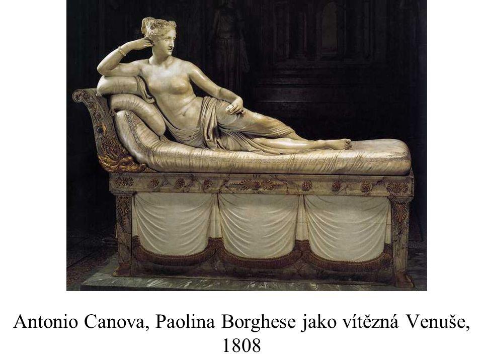 Antonio Canova, Paolina Borghese jako vítězná Venuše, 1808
