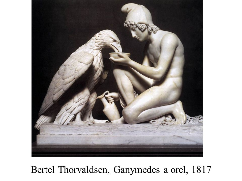 Bertel Thorvaldsen, Ganymedes a orel, 1817