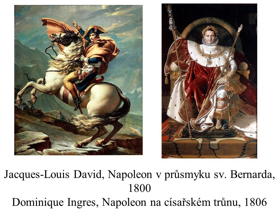 Jacques-Louis David, Napoleon v průsmyku sv