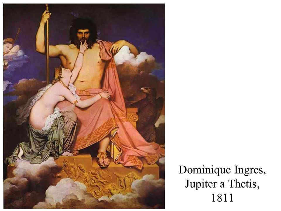 Dominique Ingres, Jupiter a Thetis, 1811