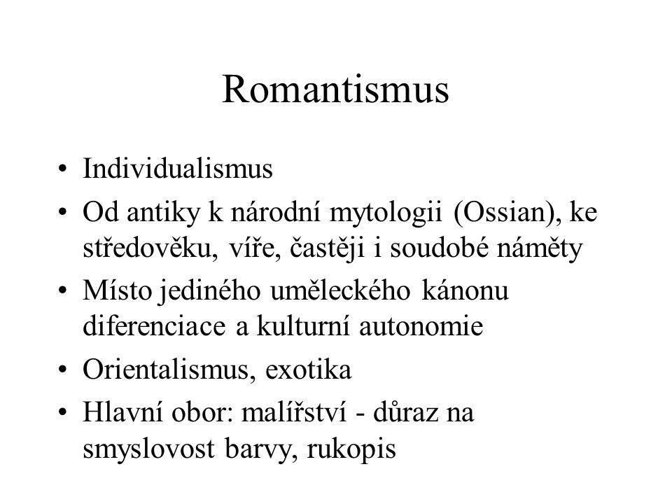 Romantismus Individualismus
