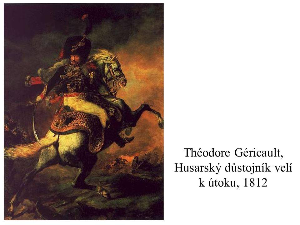 Théodore Géricault, Husarský důstojník velí k útoku, 1812