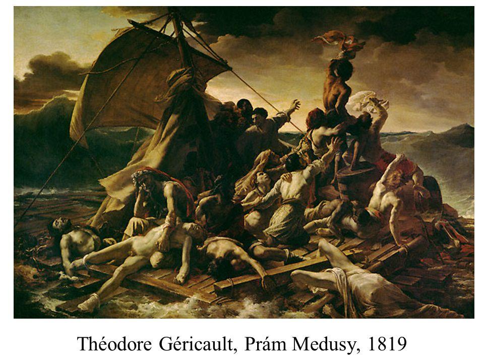 Théodore Géricault, Prám Medusy, 1819