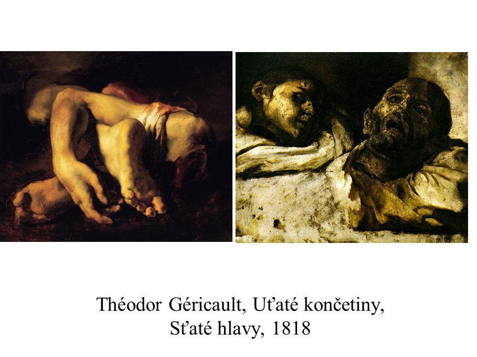 Théodor Géricault, Uťaté končetiny, Sťaté hlavy, 1818