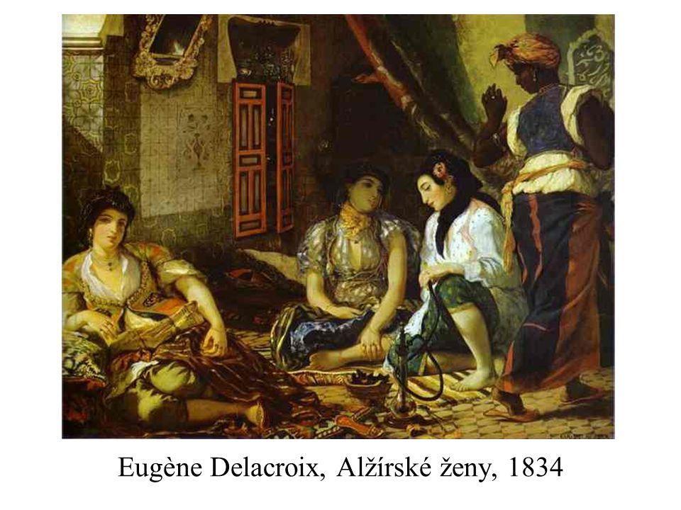 Eugène Delacroix, Alžírské ženy, 1834