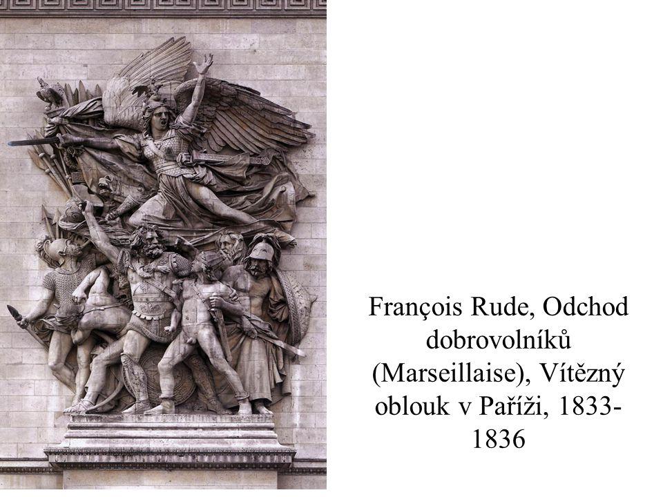François Rude, Odchod dobrovolníků (Marseillaise), Vítězný oblouk v Paříži, 1833-1836