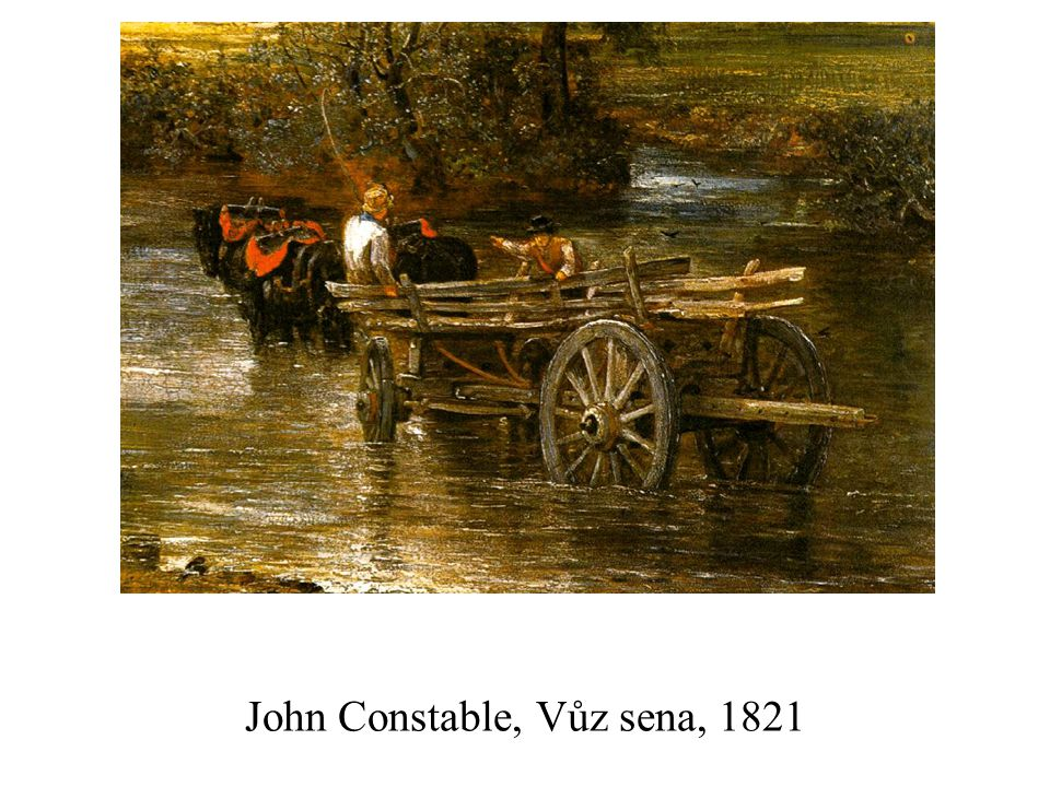 John Constable, Vůz sena, 1821