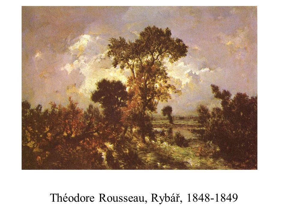 Théodore Rousseau, Rybář, 1848-1849