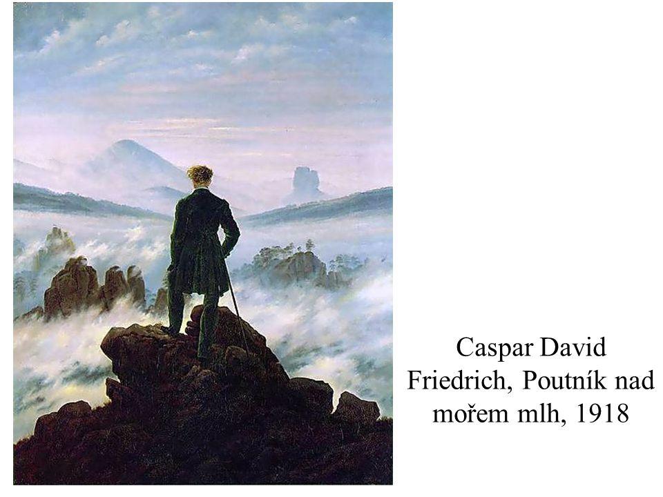 Caspar David Friedrich, Poutník nad mořem mlh, 1918