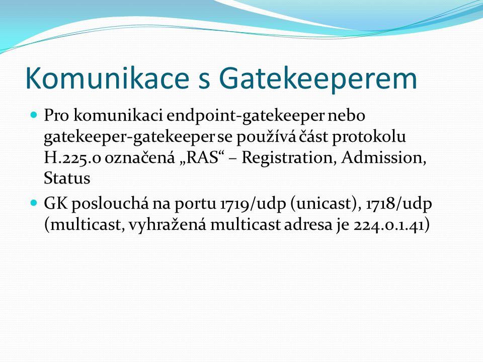 Komunikace s Gatekeeperem