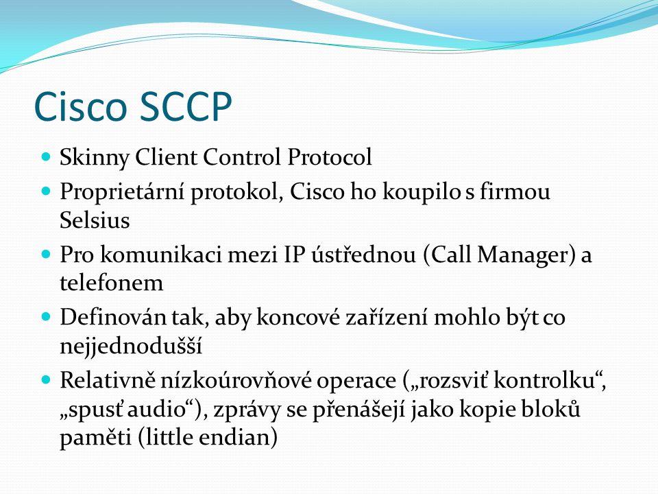 Cisco SCCP Skinny Client Control Protocol