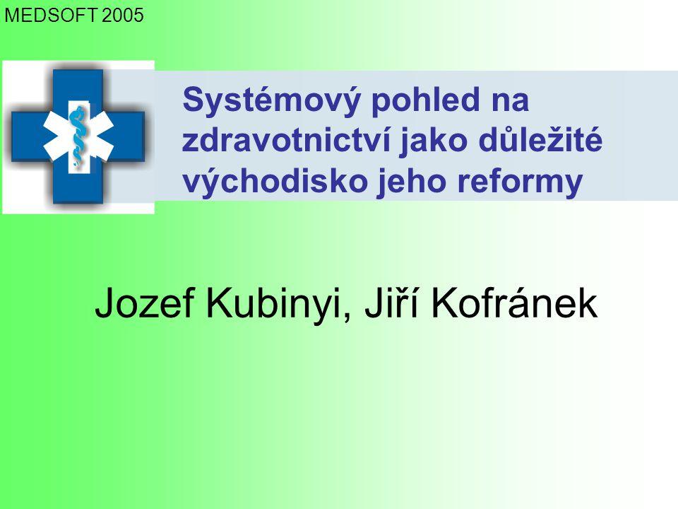 Jozef Kubinyi, Jiří Kofránek