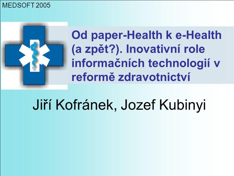 Jiří Kofránek, Jozef Kubinyi