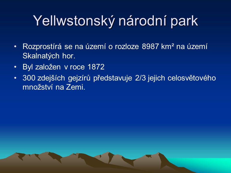 Yellwstonský národní park