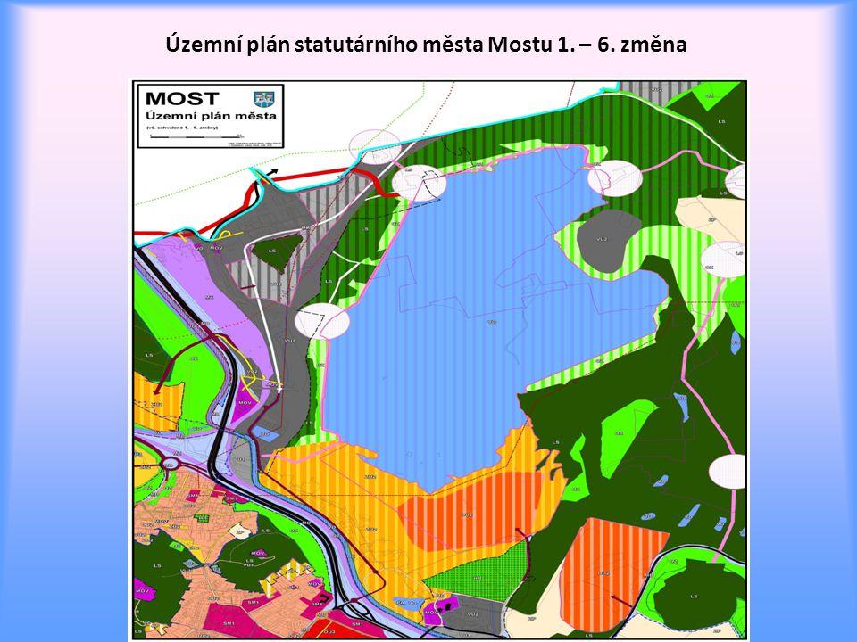 Územní plán statutárního města Mostu 1. – 6. změna