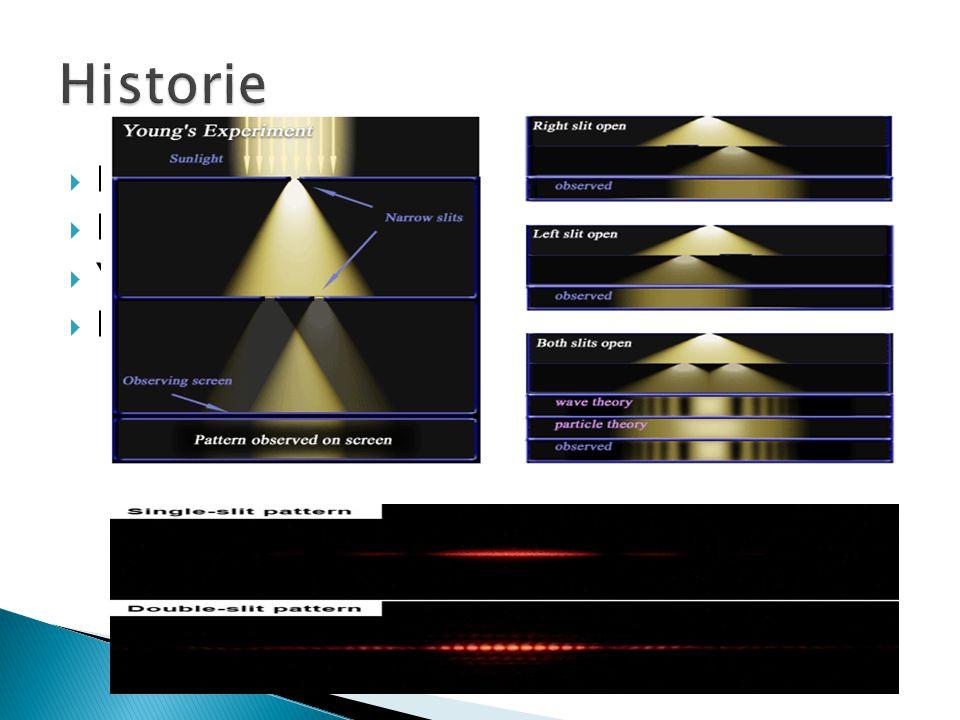 Historie Huygens – Traktát o světle Newton – Optika