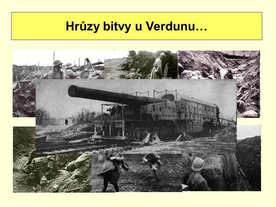 Hrůzy bitvy u Verdunu…