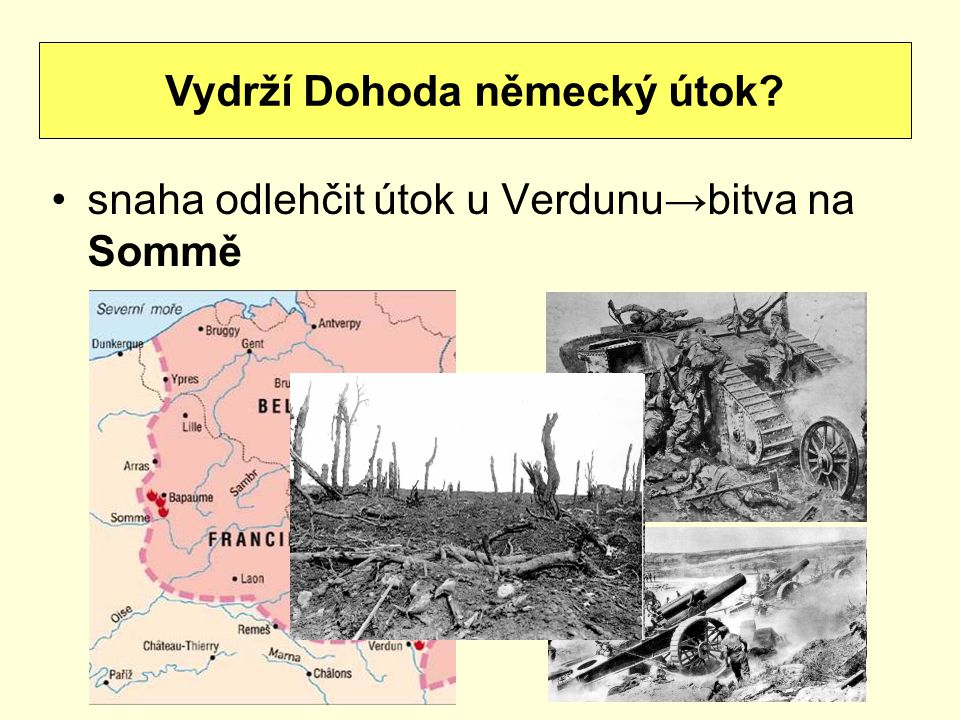 Vydrží Dohoda německý útok