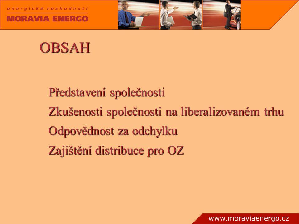 OBSAH Představení společnosti