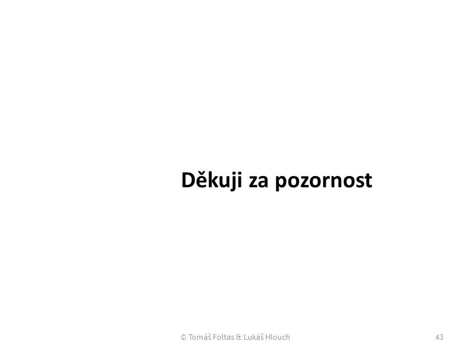 © Tomáš Foltas & Lukáš Hlouch