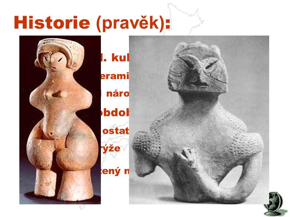 Historie (pravěk): 11 tis. př.n.l. kultura Jomon: