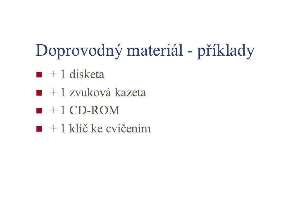 Doprovodný materiál - příklady