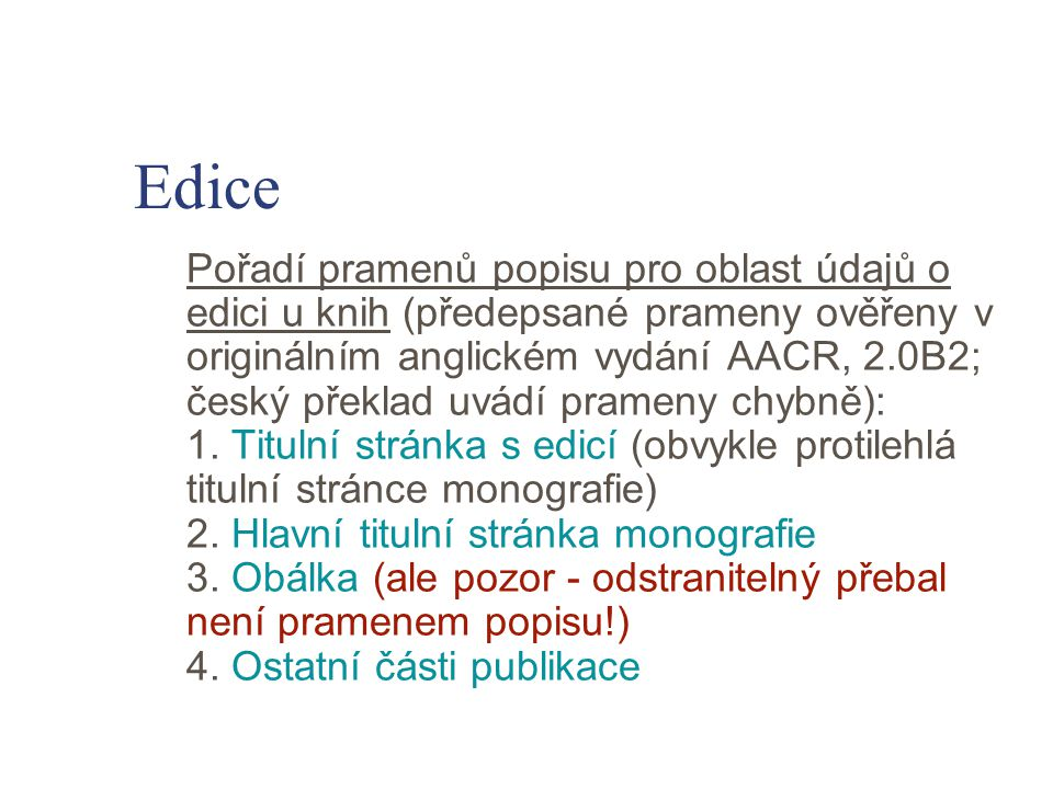 Edice
