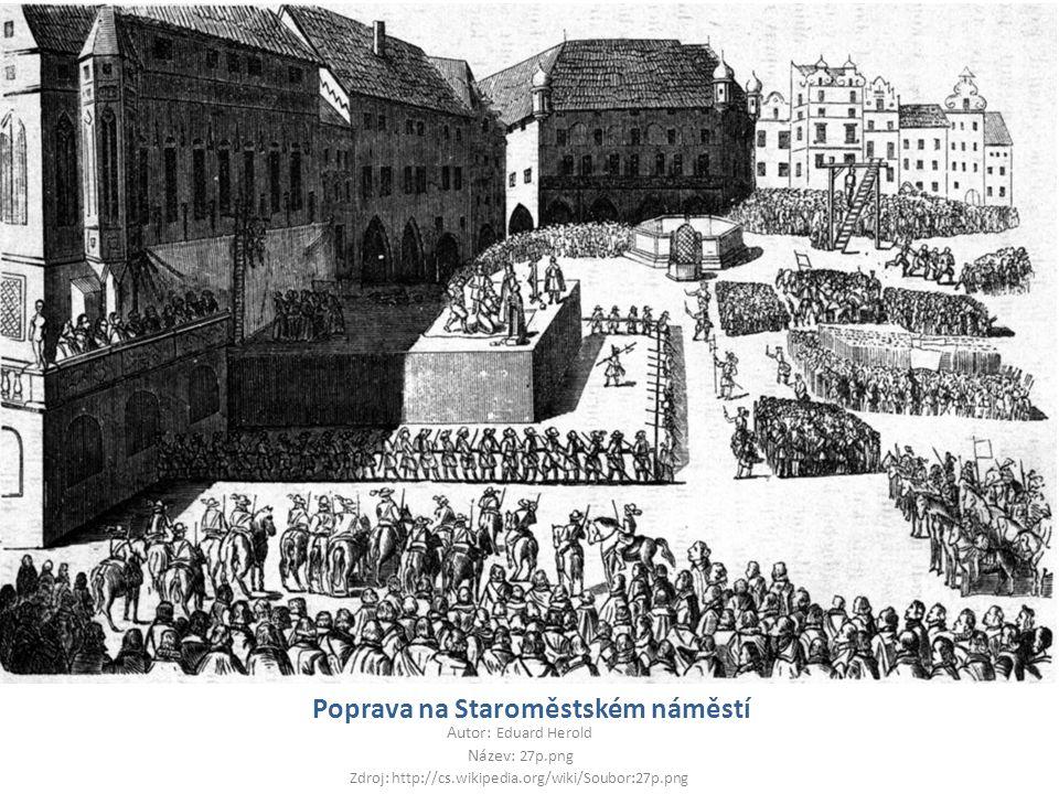 Poprava na Staroměstském náměstí