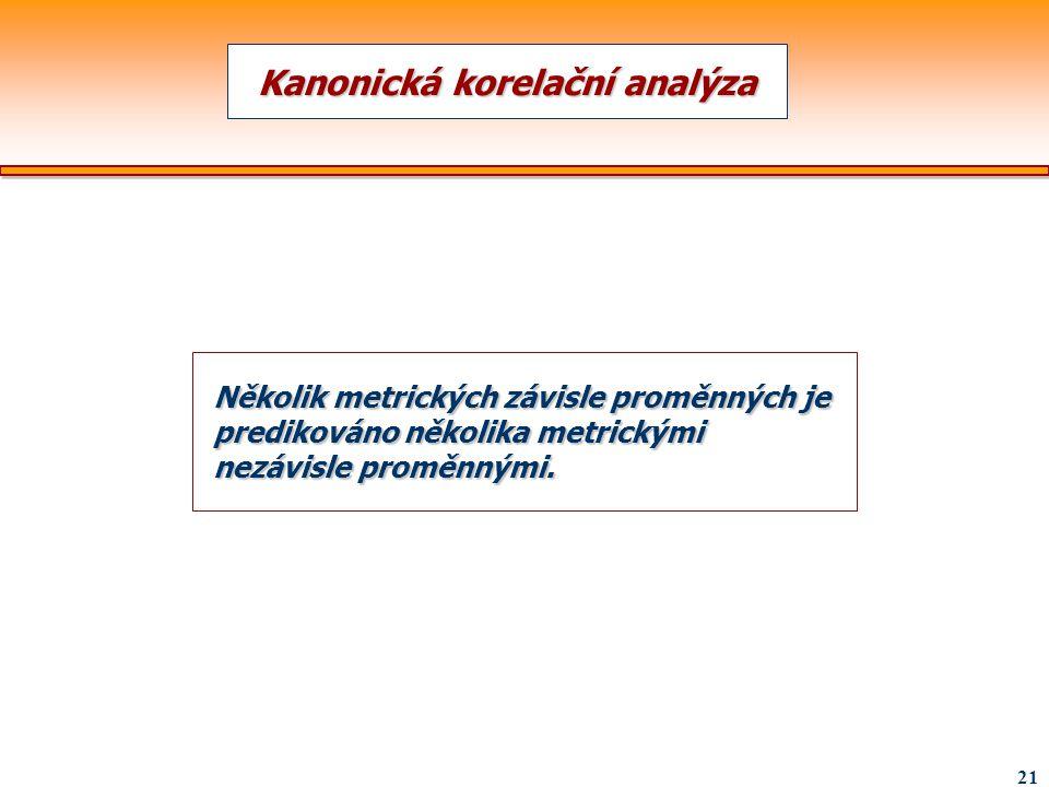 Kanonická korelační analýza