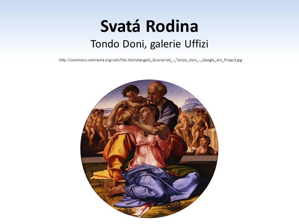 Tondo Doni, galerie Uffizi