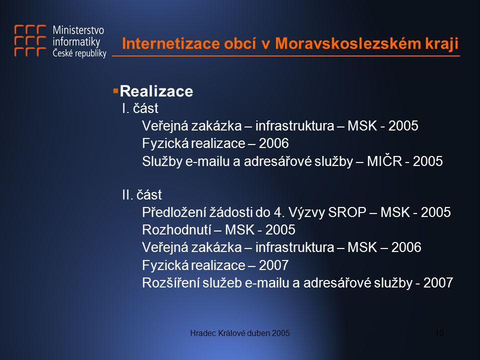 Internetizace obcí v Moravskoslezském kraji