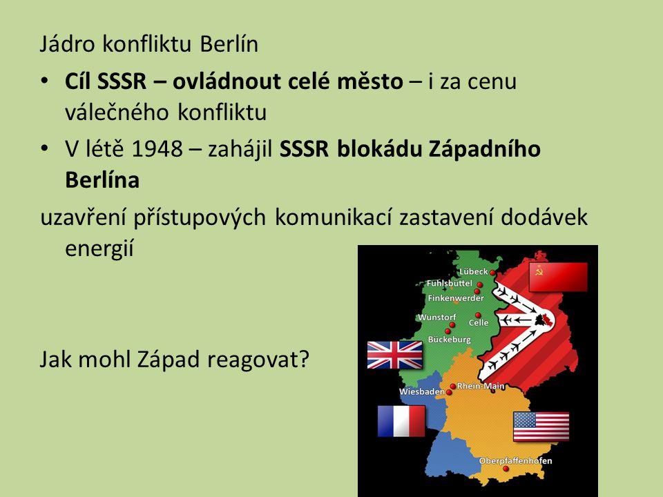 Jádro konfliktu Berlín