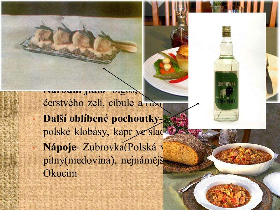 STRAVOVÁNÍ Hlavní složka jídla- brambory