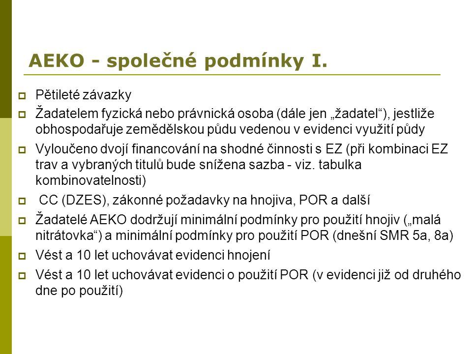 AEKO - společné podmínky I.