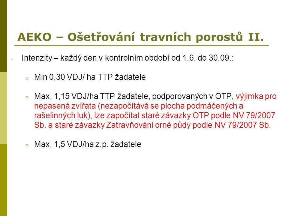 AEKO – Ošetřování travních porostů II.