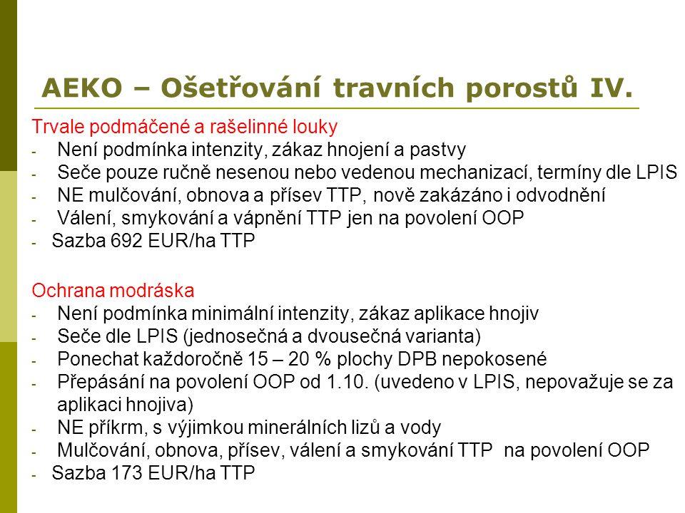 AEKO – Ošetřování travních porostů IV.
